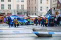 Police closed Tallinn's Christmas Market after an abandoned suitcase was reported.