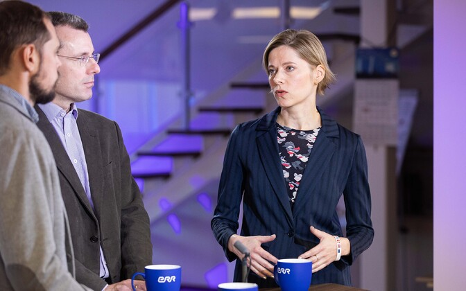 Experts Martin Hurt and Liis Mure on Otse uudistemajast