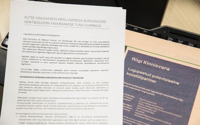 RKAS-i dokumendid ja lehekuulutus.