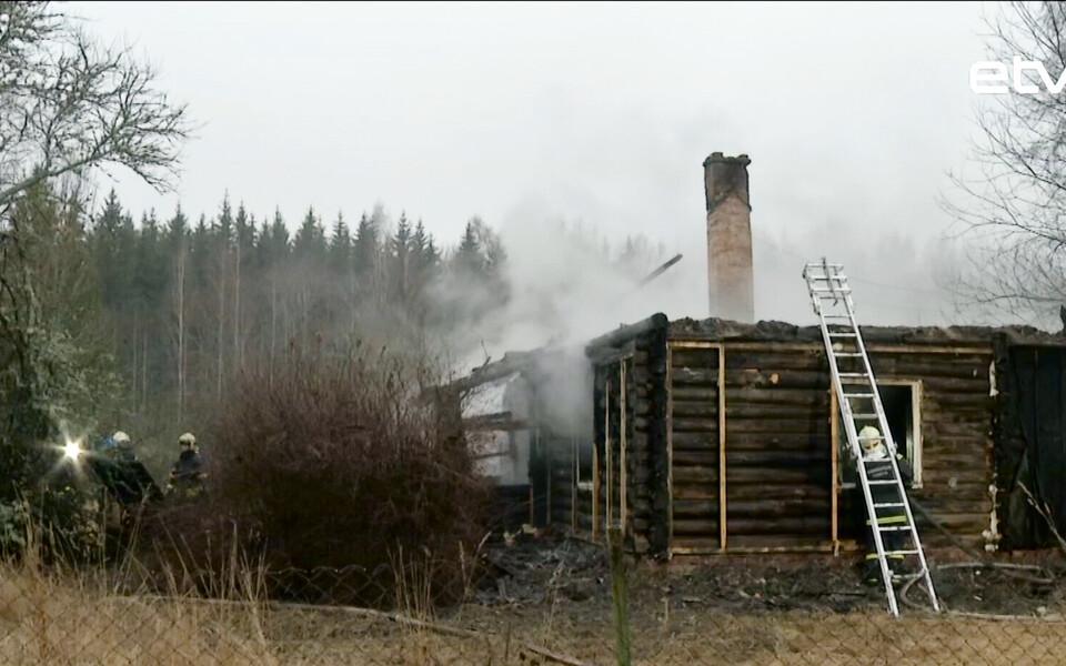 Пожар в Тартумаа.
