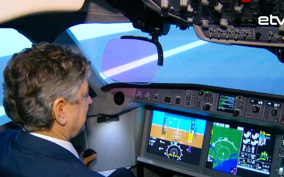 Симулятор для пилотов.