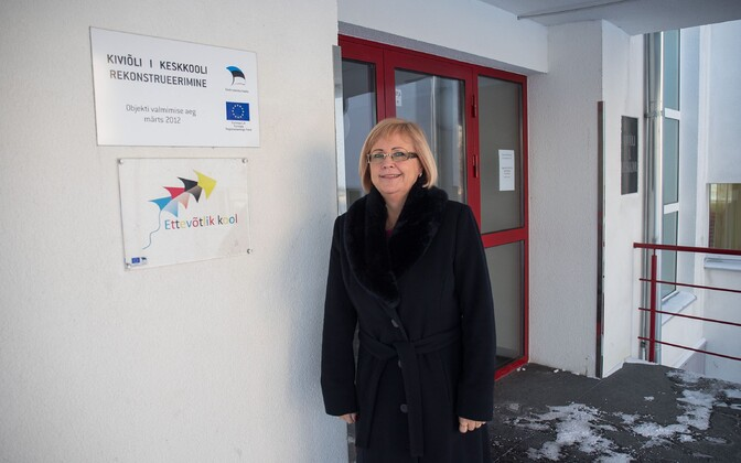 Heidi Uustalu, the sacked Kiviõli school principal at the center of the controversy.