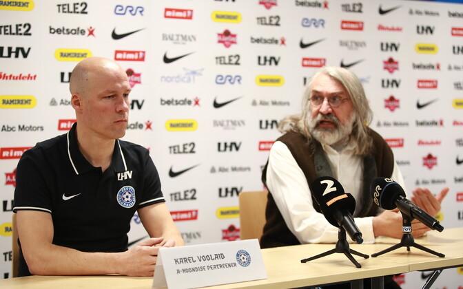 Karel Voolaid ja Aivar Pohlak
