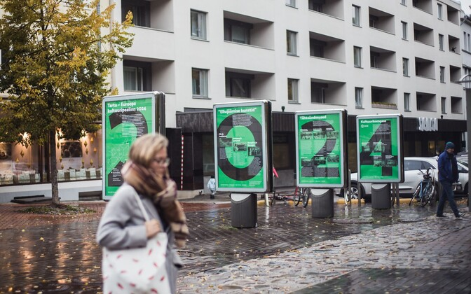 Posters for Tartu's term of European Capital of Culture in 2024.