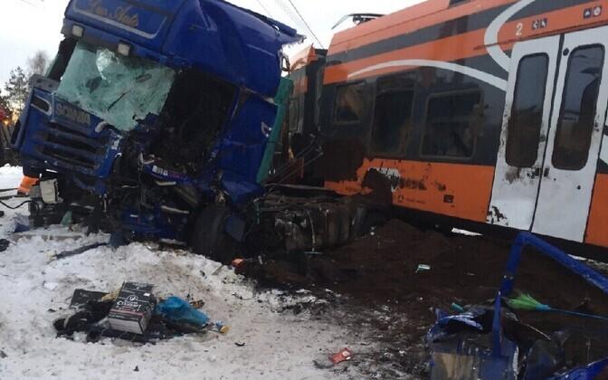 Авария произошла 20 февраля 2018 года.