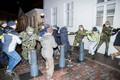 Учения полиции на Тоомпеа.