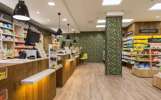 A pharmacy in Estonia (photo is illustrative).