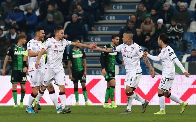 Cagliari meeskonna mängijad