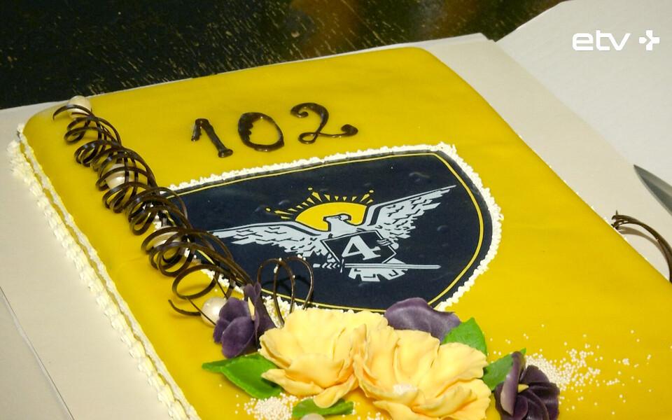 Вируский пехотный батальон отметил свое 102-летие.
