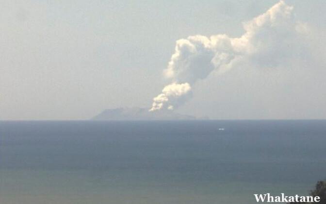 Vulkaanipurse Uus-Meremaal 9. detsembril Valgel ehk Whakaari saarel.