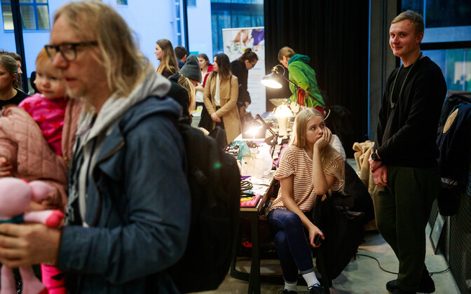 Eesti Kunstiakadeemia jõuluturg