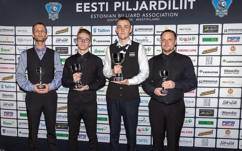 vasakult: Pärn, Sokolov, Petrov, Märtsin