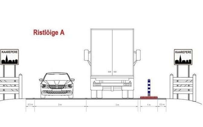 Проект включает так называемые ворота населенного пункта.