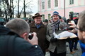 Farmers hold protest at Toompea.