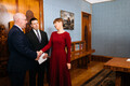 President Kersti Kaljulaid appointed Arvo Aller (EKRE) minister of rural affairs. Tuesday, Dec. 10, 2019.