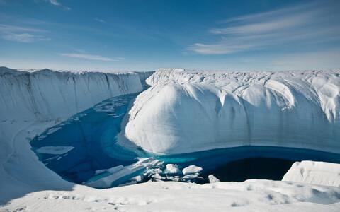 Göönimaa jääliustik.