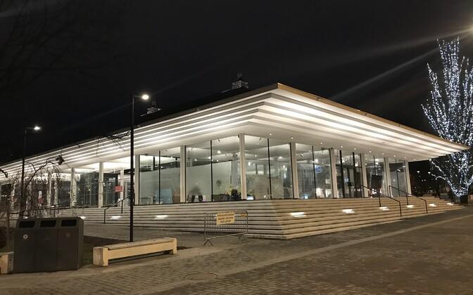 Pavilion in Tammsaare Park, Tallinn.