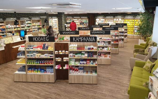 Independent Paekivi pharmacy owned by Andre Vetka