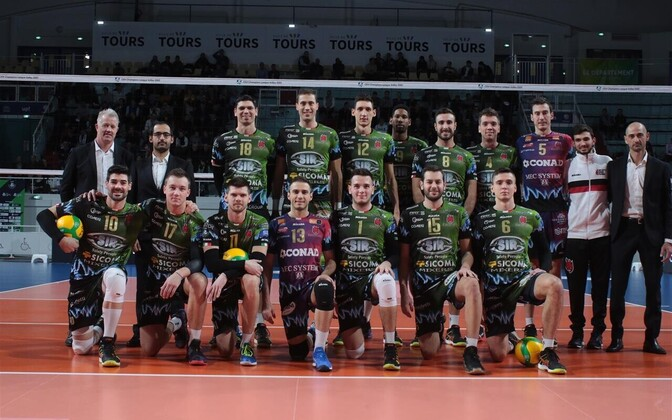 Robert Täht Perugia meeskonnaga