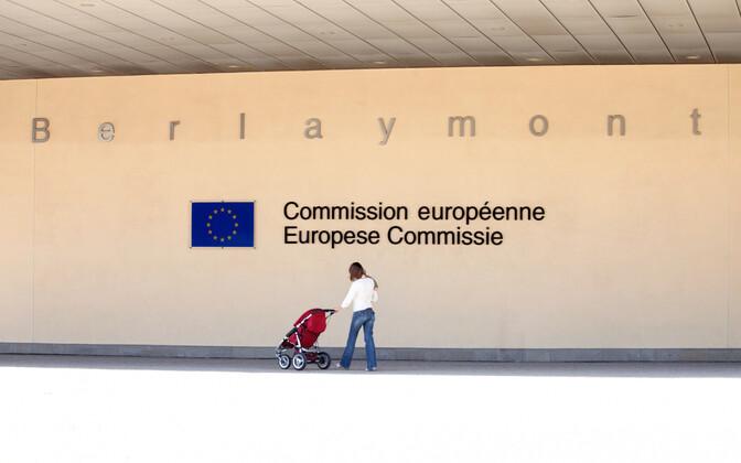 Euroopa Komisjoni peahoone Brüsselis.