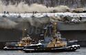 Venemaa ainsal lennukikandjal Admiral Kuznetsov puhkes tulekahju.