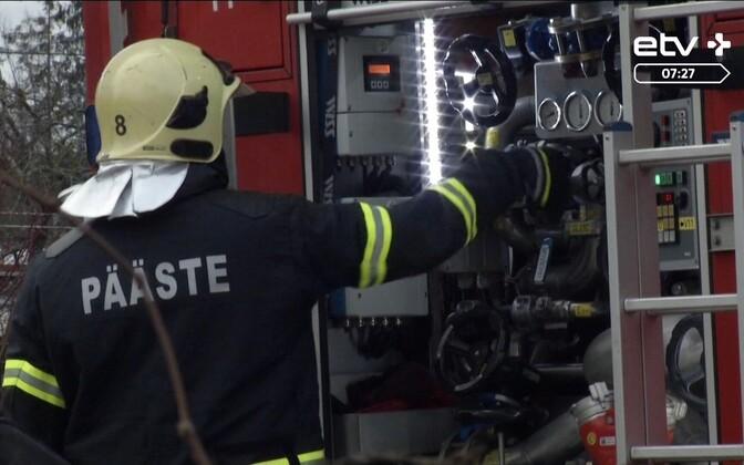 Ситуация с пожарной безопасностью в Эстонии ухудшается
