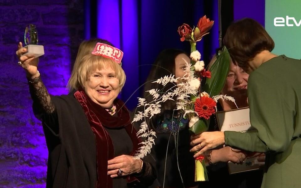 В Таллинне вручали ежегодные премии за  успехи в области интеграции.
