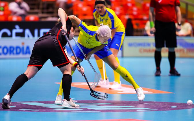 Rootsi naiskond sai Saksamaast kindlalt jagu ning kohtub poolfinaalis Soomega