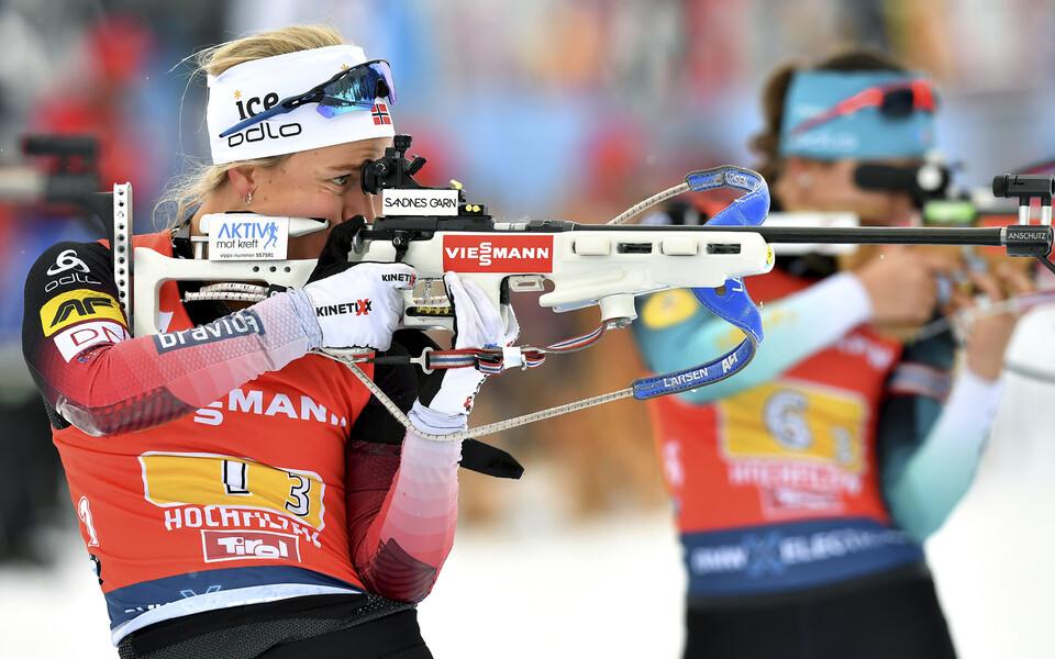 Norra kolmandat vahetust sõitnud Tiril Eckhoff