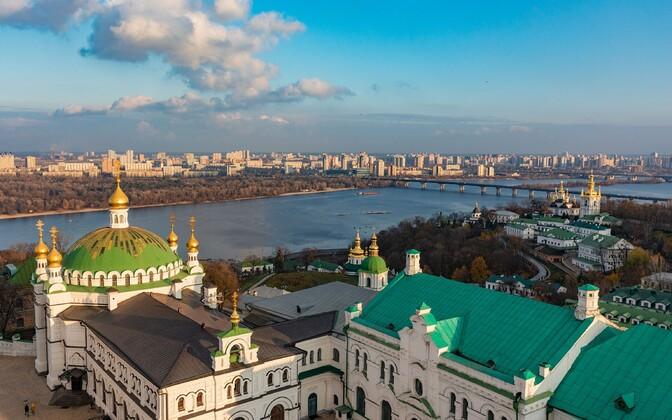 Vaade Kiievile.