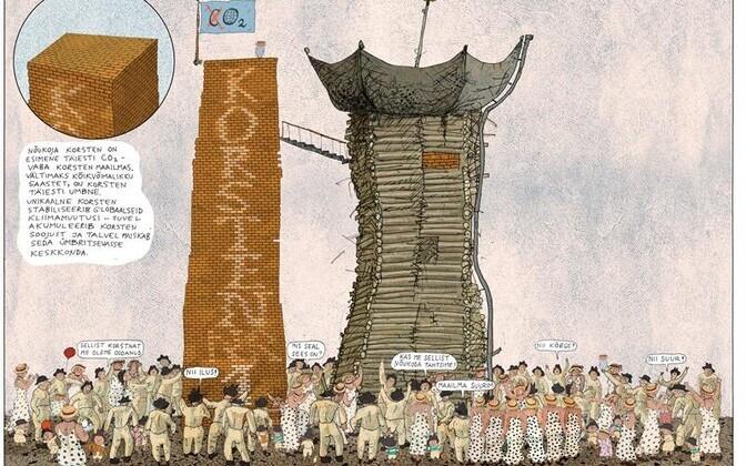 """Kilplased kippusid meie kaasaega. Lehekülg Priit Pärna raamatust """"Kilplased globaliseeruvad""""."""