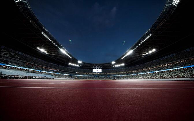 Новый олимпийский стадион в Токио.