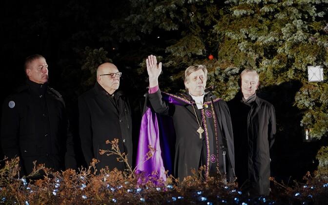 Провозглашение рождественского мира в Йыгева.