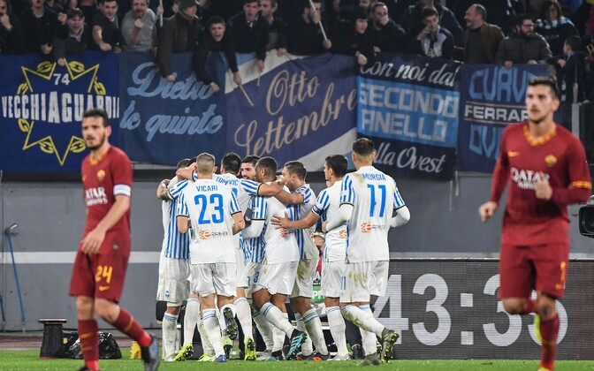 AS Roma - SPAL kohtumine Itaalia jalgpalli kõrgliigas