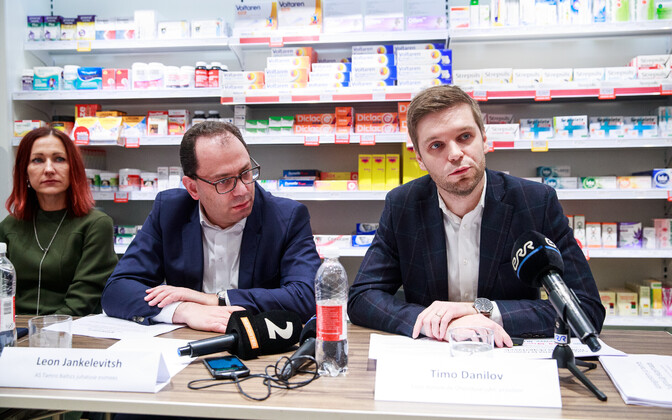 Pharmacy reform press conference on Monday. December 16, 2019.