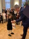 Reception at the Estonian Embassy in Moscow of children who participated in the Christmas card drawing contest.