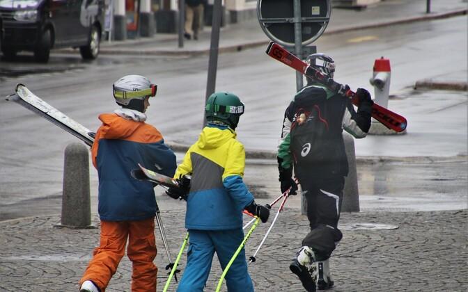 Популярное в Эстонии выражение «плохая лыжная погода» связано с капризами погоды.