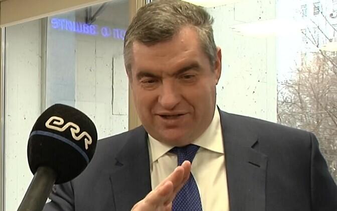 Chairman of the State Duma Committee on International Affairs Leonid Slutsky.