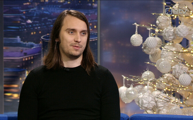 Patrik Hytönen appearing on Monday's Ringvaade.
