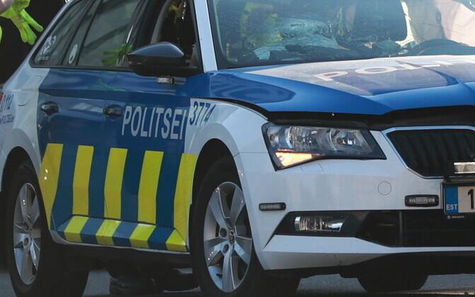 Полиция зафиксировала в ночь на вторник.