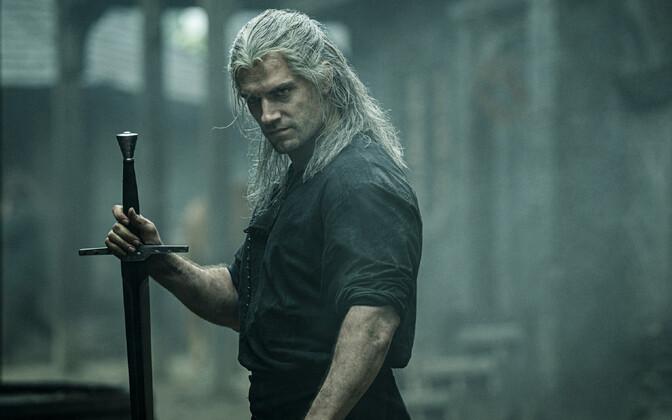 Henry Cavill Netflixi sarjas nõidur Geraltina.