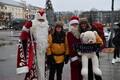 Встреча Деда Мороза и Санта-Клауса в Нарве.