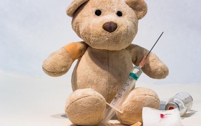 Sajast vaktsineerimata inimesest haigestub kokkupuutel leetrihaigega 98.
