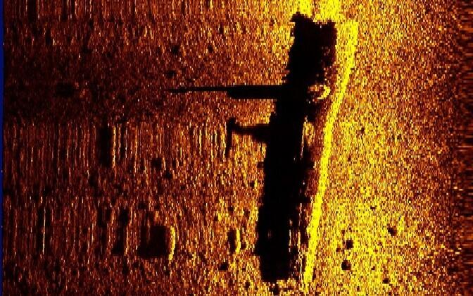 Затонувшая советская подводная лодка M94.