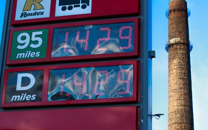 Kütuse hind tanklates