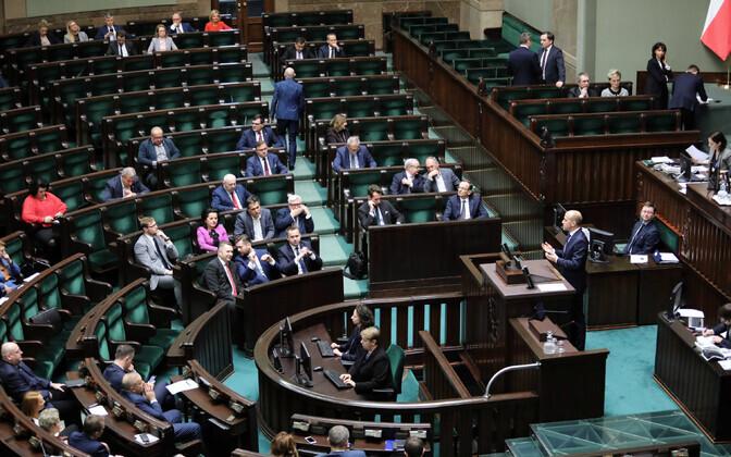 Poola parlamendi alamkoda.