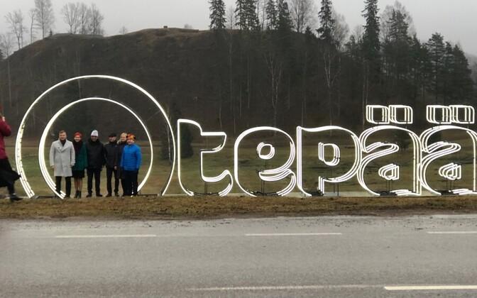 Otepää became the winter capital of Estonia on December 22.