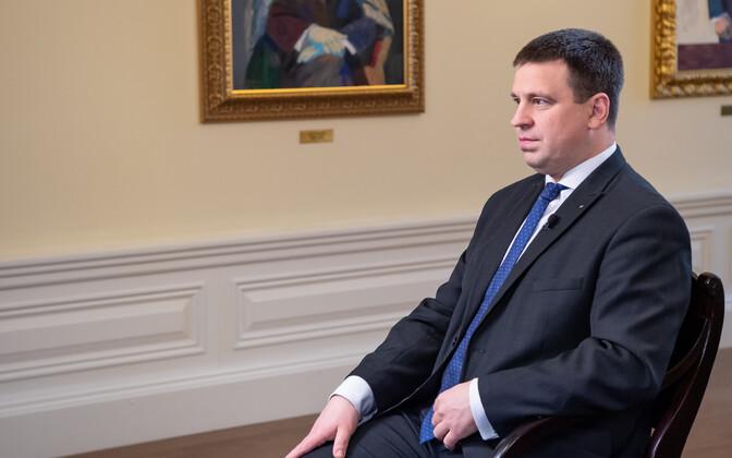 Новогоднее интервью с Юри Ратасом.