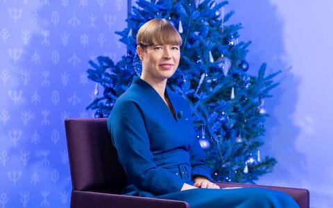 Новогоднее интервью Дмитрия Пастухова с президентом Керсти Кальюлайд.