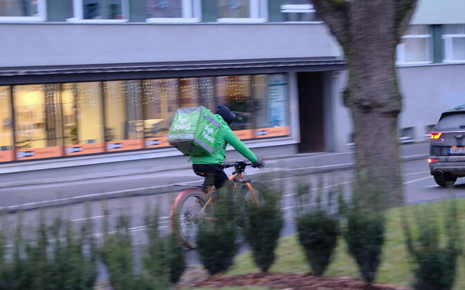 Food courier.